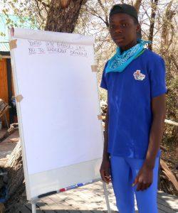 Tuhafeni Hamundjebo, Grade 12, Cosmos High School