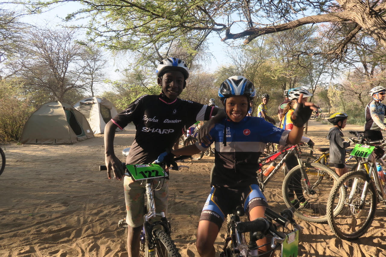 MTB event at the Ongeama game