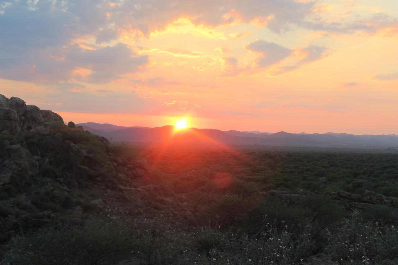 Ongeama sunset