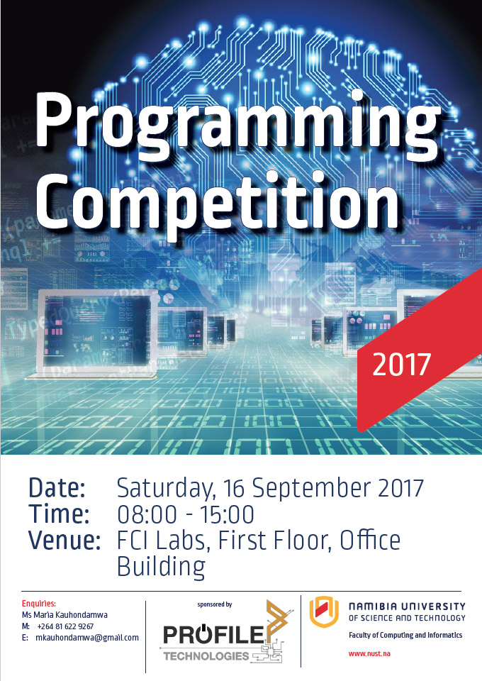 NUST Programming Competition - P A Y Coding Academy team