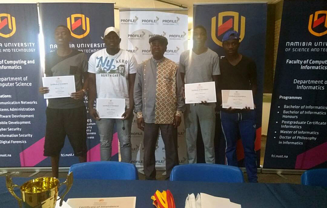 P.A.Y. Coding Academy team emerged as the second runners up of the MUST programming competition