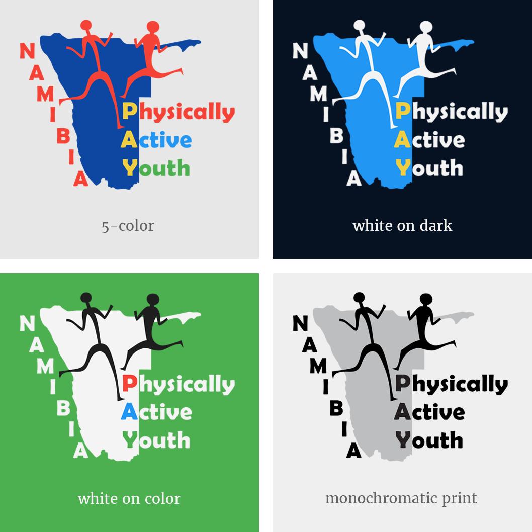 P.A.Y. logo versions